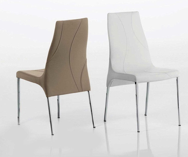 Leather Dining Chairs Modern