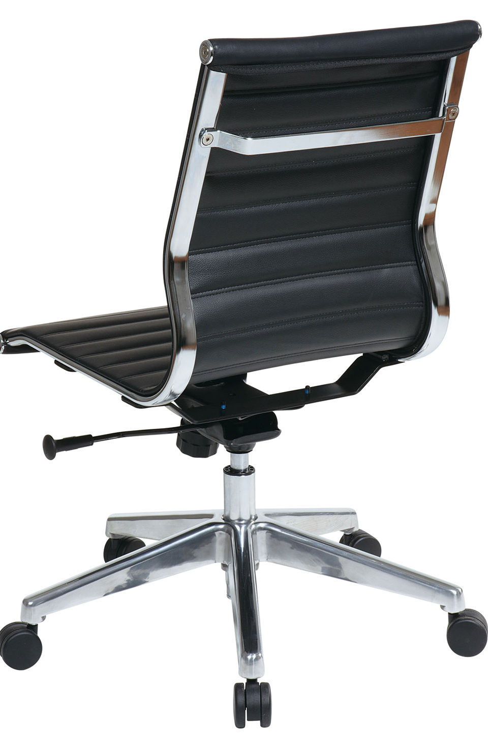 Leather Office Chair Without Arms