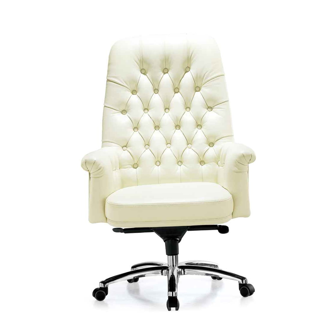 Off White Office Chair