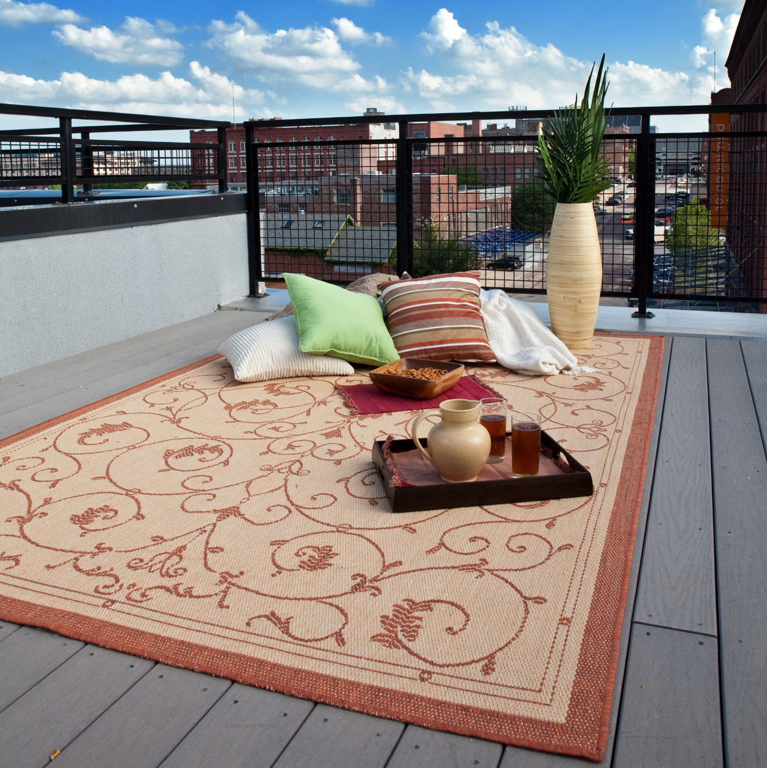 Outdoor Patio Rugs Lowes