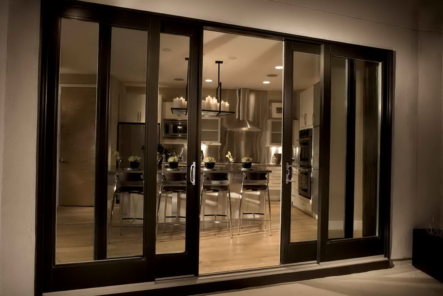 Patio Sliding Doors With Built In Blinds