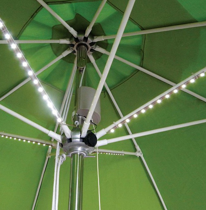 Patio Umbrella Lights Battery Operated