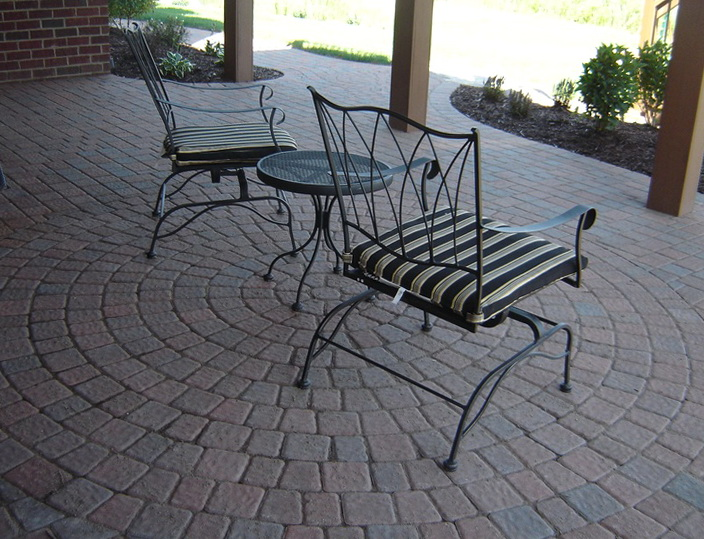 Paver Patio Designs Under Deck