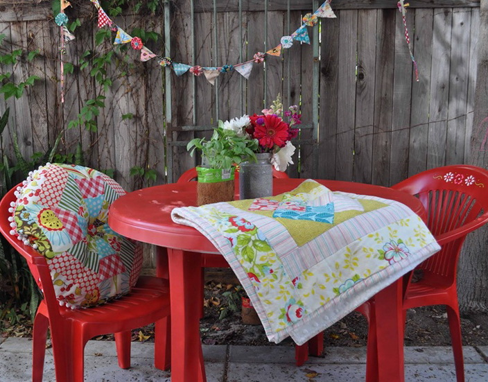 Plastic Patio Furniture Makeover