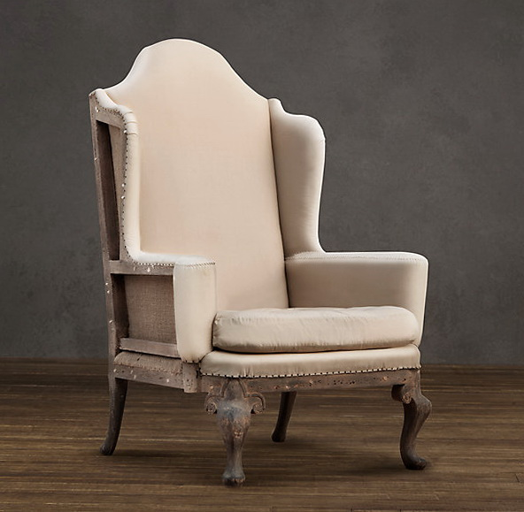 Queen Anne Chair Slipcover