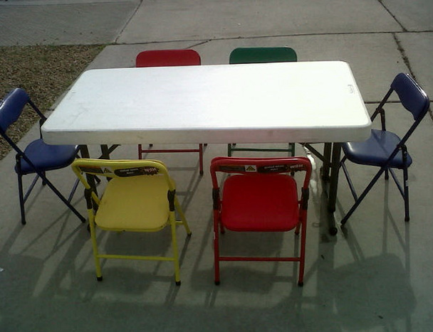 Rent Tables And Chairs For Kids Party