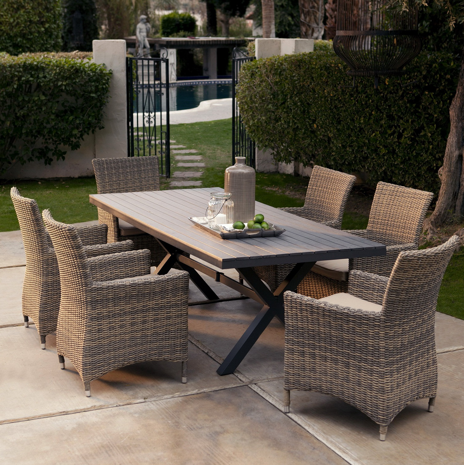 Resin Wicker Patio Furniture Target