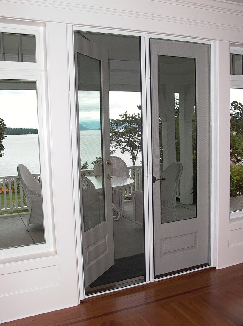 Retractable Screen Doors French Doors