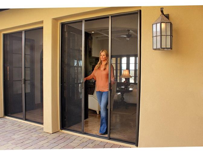 Retractable Screen Doors Orange County