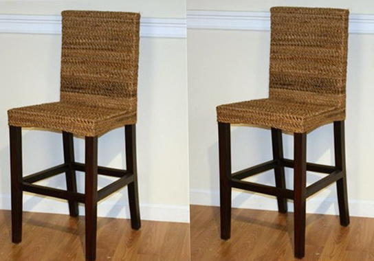 Seagrass Counter Height Chairs