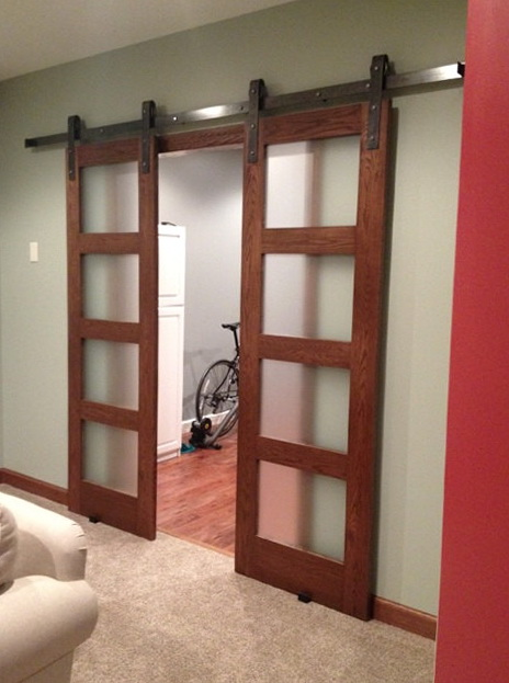 Sliding Barn Door Hardware Double Track