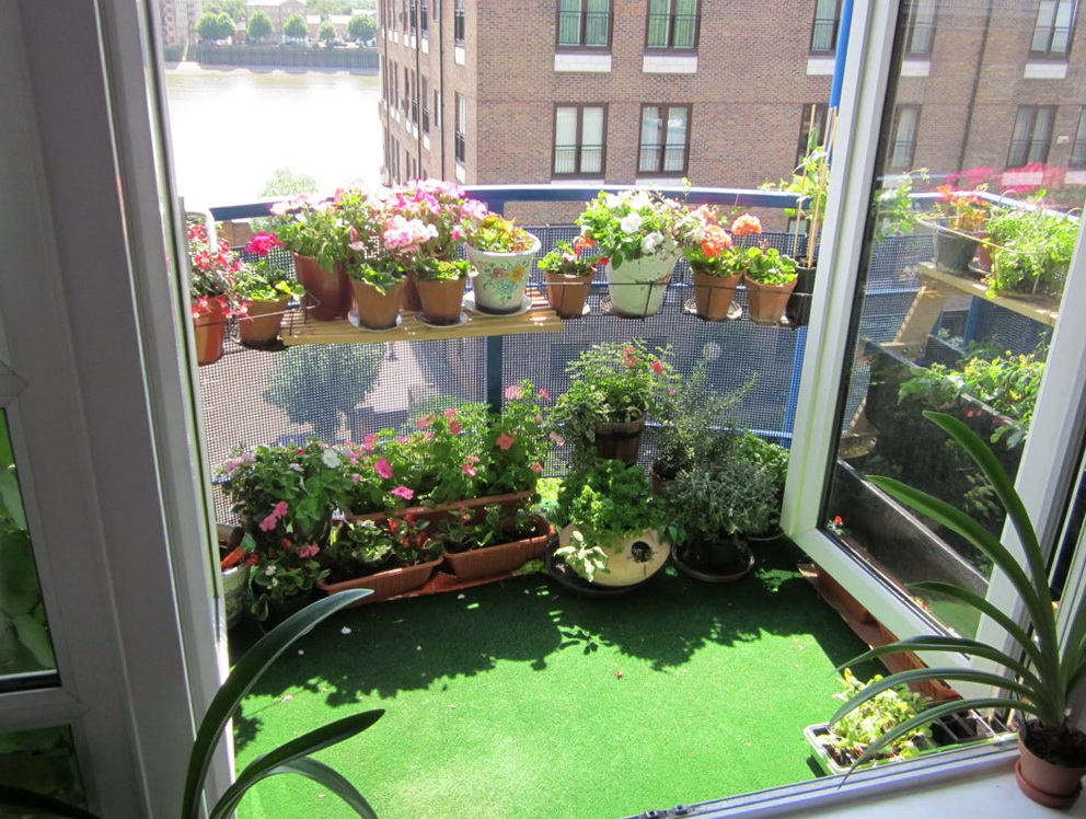 Small Apartment Patio Garden Ideas