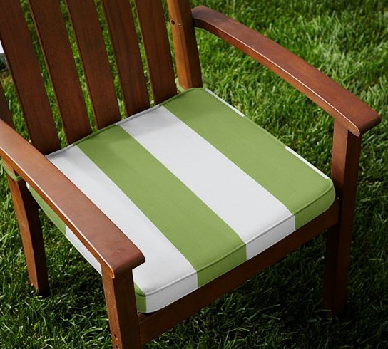 Striped Dining Chair Cushions