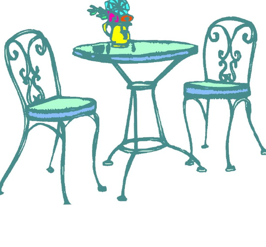 Tables And Chairs Clipart