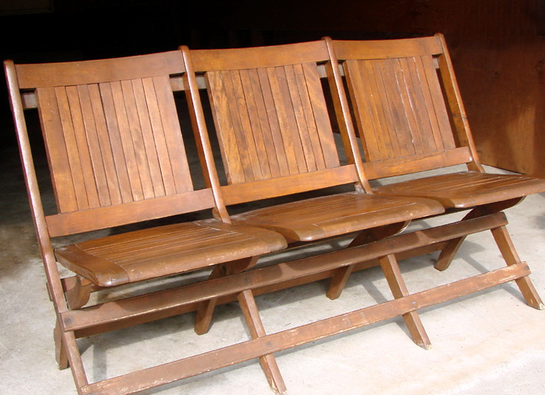 Vintage Waiting Room Chairs