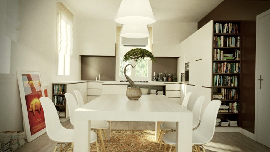 White Kitchen Tables And Chairs