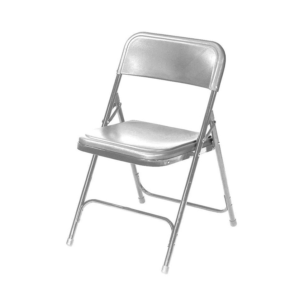 White Metal Folding Chairs