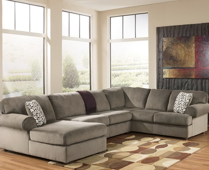 Ashley Furniture Gray Sectional Sofa