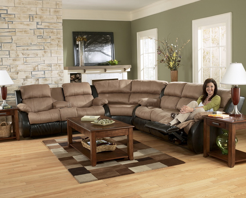 Ashley Furniture Sectional Sofas With Recliners
