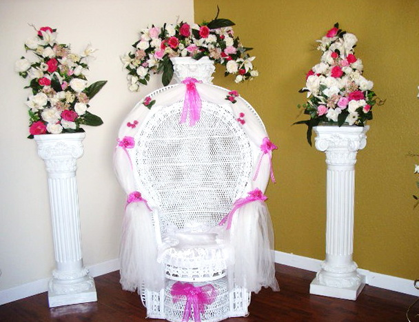 Baby Shower Chair Covers