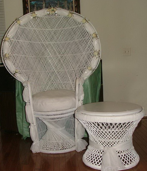 Baby Shower Chair Ideas
