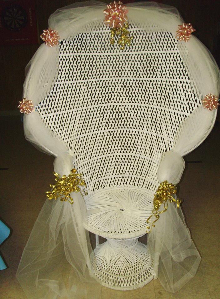 Baby Shower Chair Rental