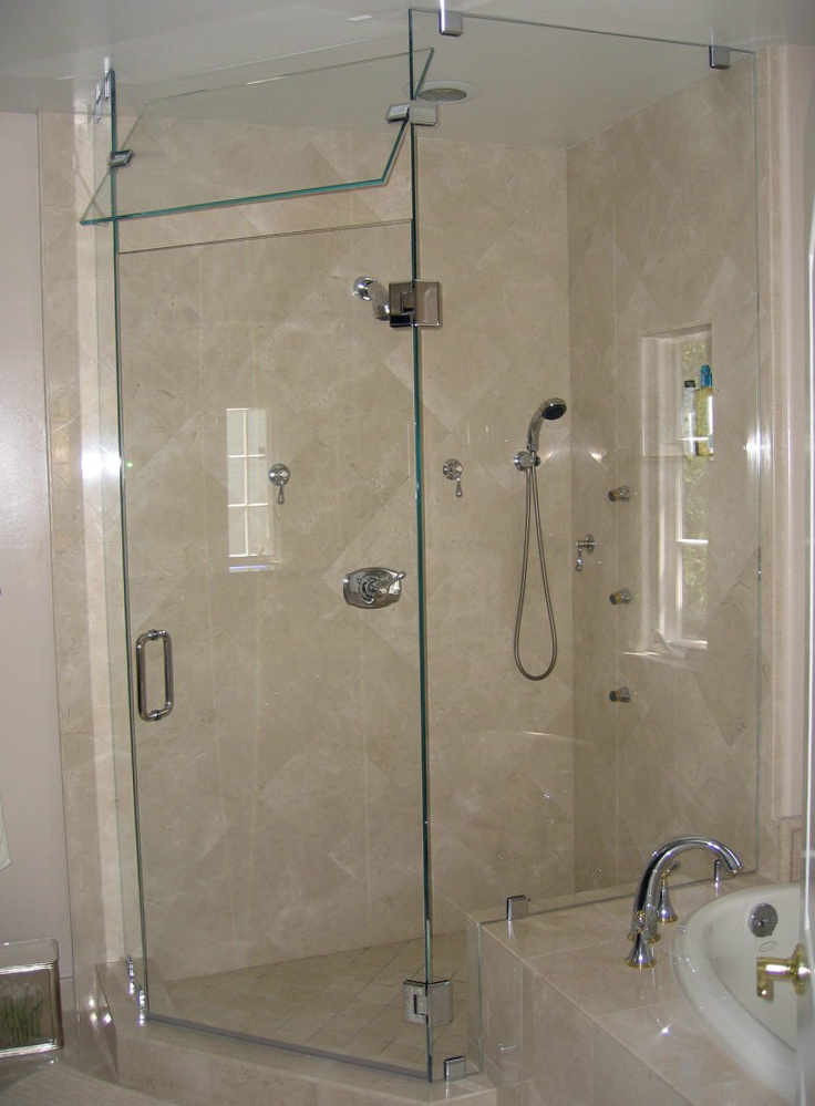 Basco Shower Doors Cleaning
