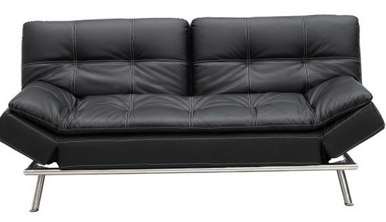 Black Click Clack Sofa Bed
