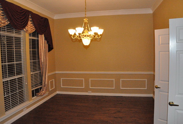 Chair Rail Molding Dining Room