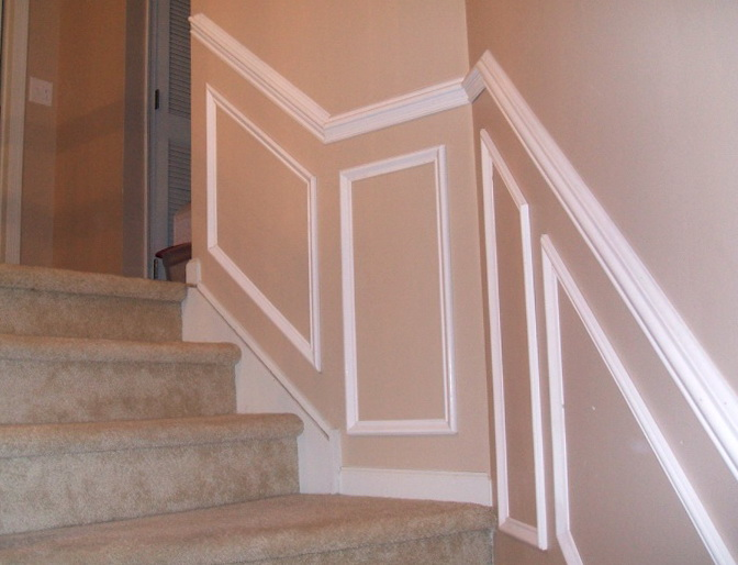 Chair Rail Molding On Stairs