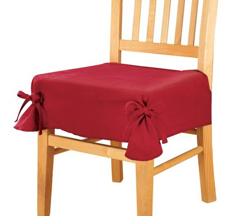 Chair Seat Covers With Ties