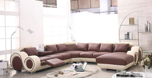 Chaise Lounge Sofa With Recliner