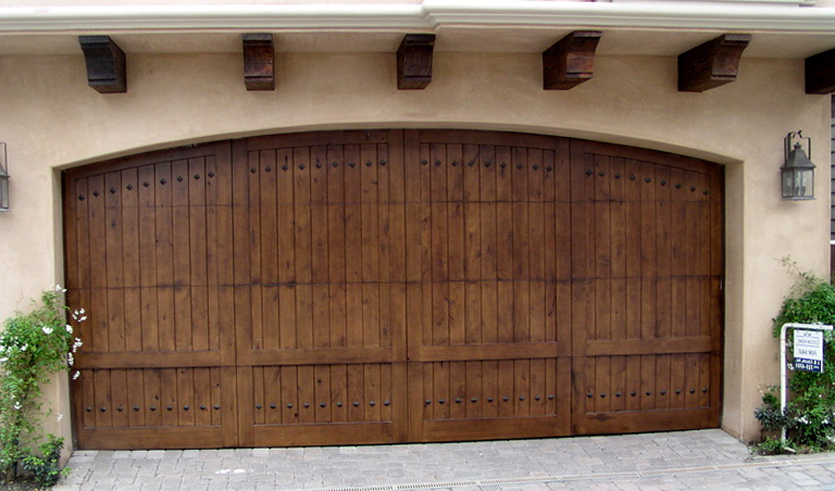Composite Wood Garage Doors