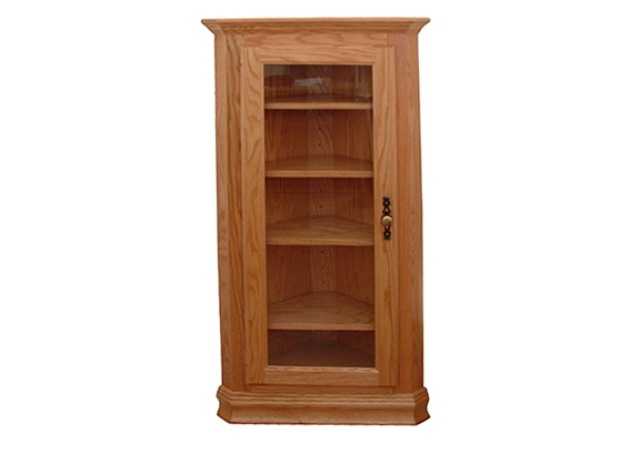 Corner Bookcases With Doors