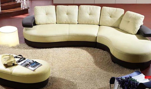 Curved Sectional Sofa Dimensions