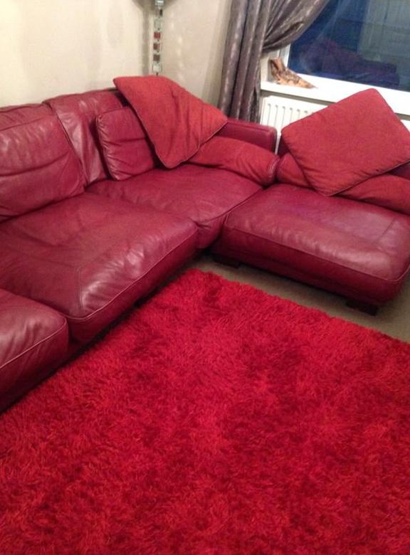 Dfs Italian Leather Sofa