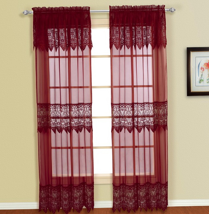 Door Panel Curtains Solid