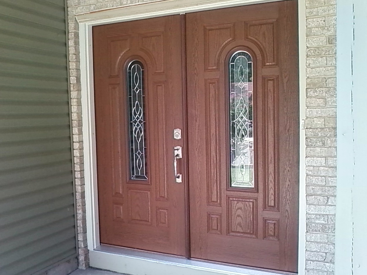 Double Entry Doors Fiberglass
