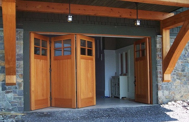 Fake Wood Garage Doors