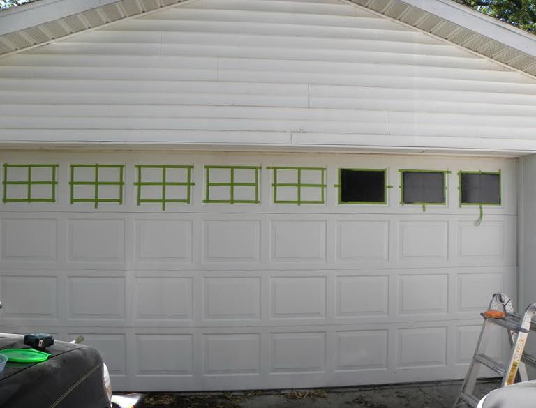 Faux Carriage Garage Doors