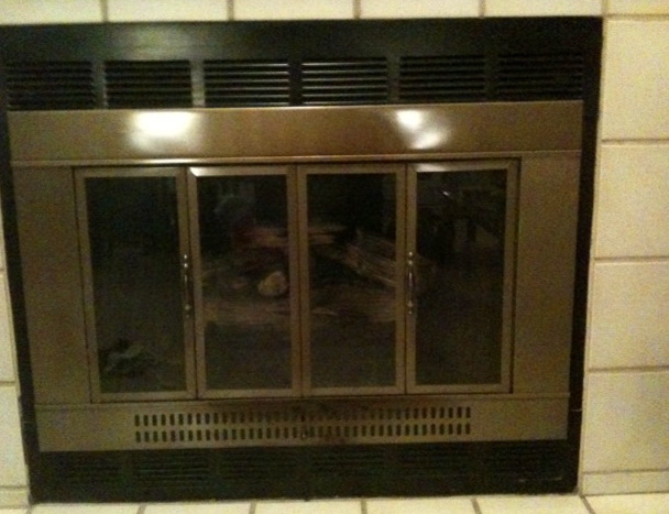 Fireplace Glass Doors Replacement