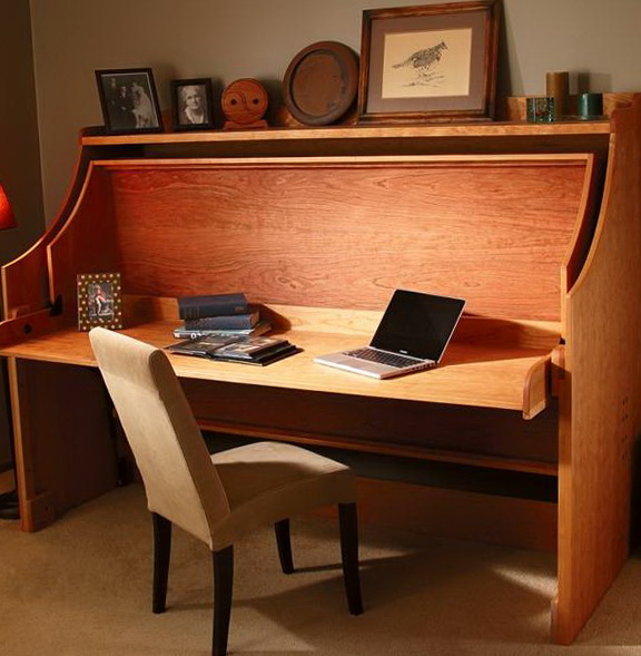 Fold Away Bed Desk
