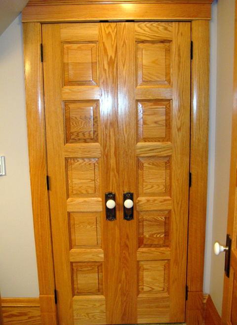 French Doors Interior Narrow