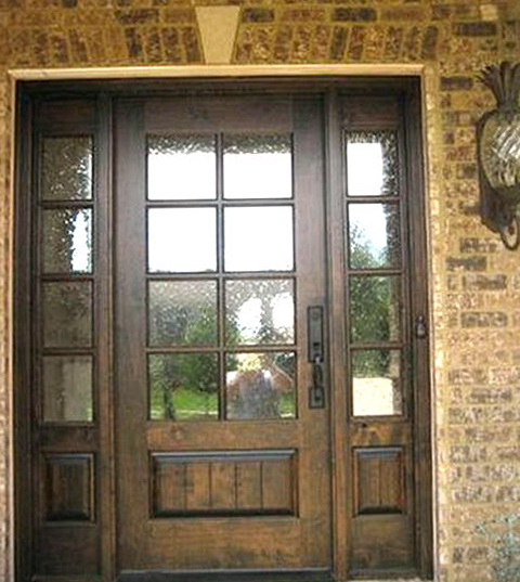 Front Entry Doors With Side Panels