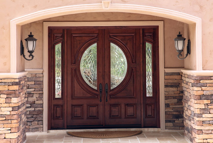 Front Entry Doors With Sidelites