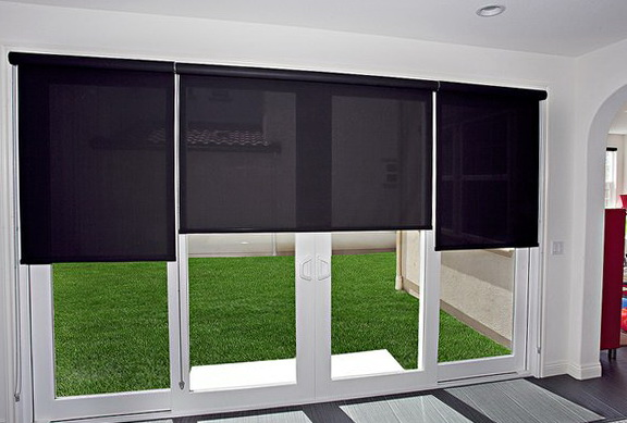 Horizontal Sliding Glass Door Blinds