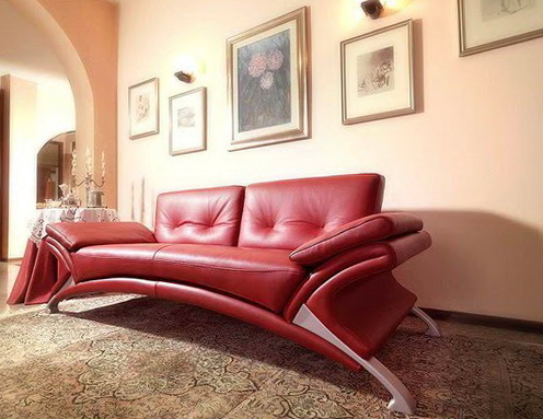 Italian Leather Sofas Modern