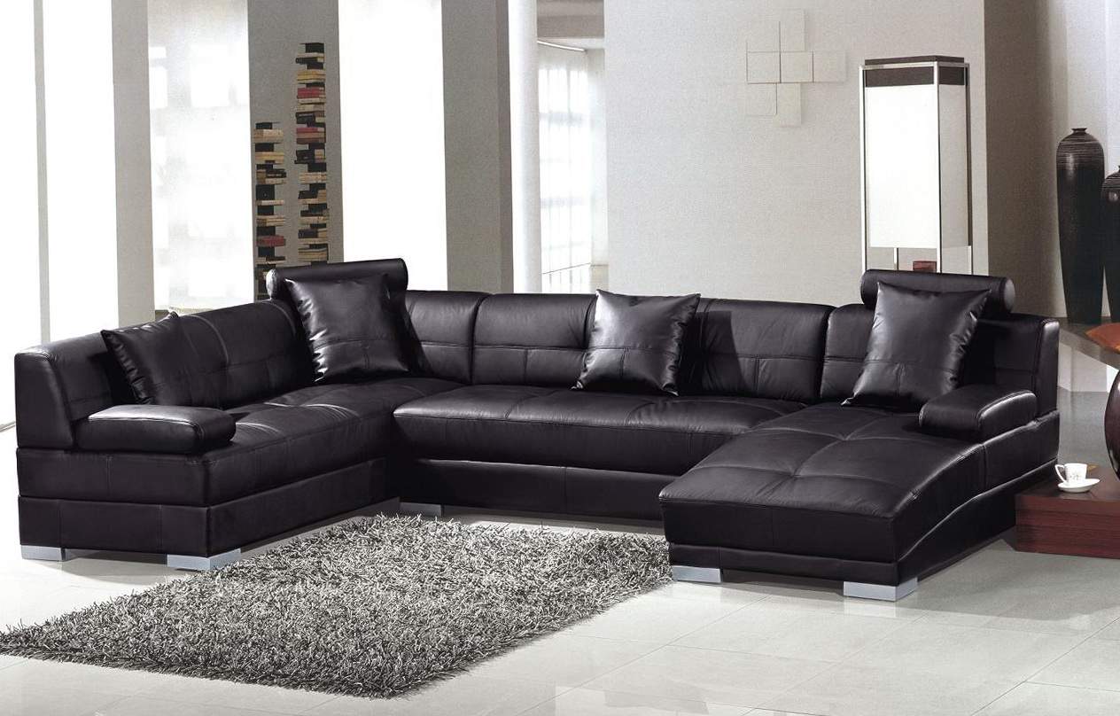 Leather Queen Sleeper Sofa