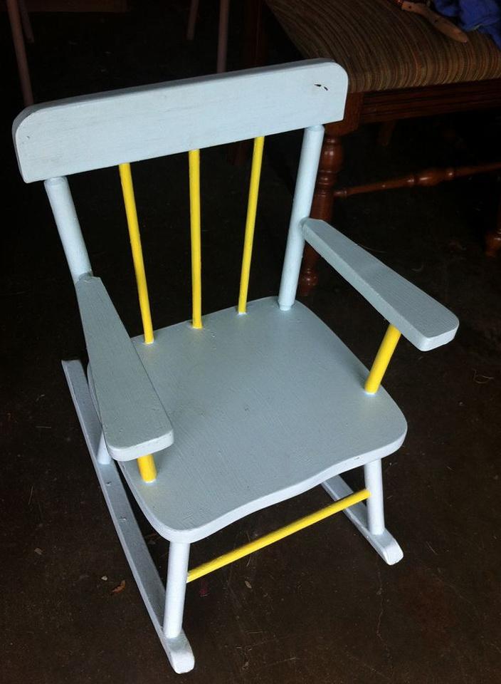 Little Kids Rocking Chair