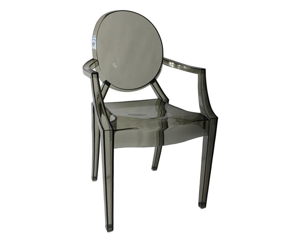 Louis Ghost Chair Smoke